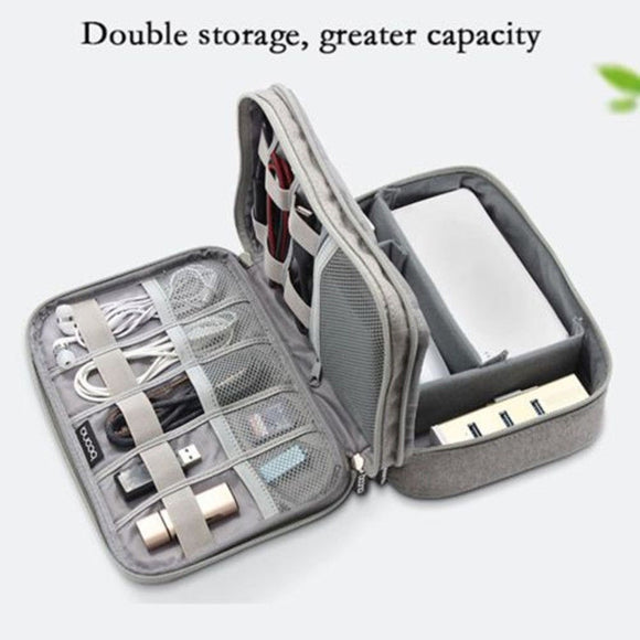 Electronic Accessories Cable USB Drive Organizer.