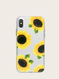 Sunflower Pattern iPhone Case