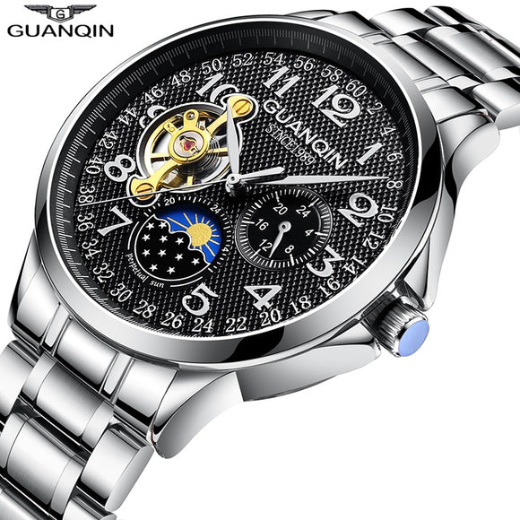 New watch men business Automatic clock .