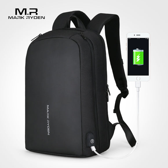 Men Backpack Multifunction with USB Recharging