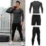 New Compression Men's Running Sets
