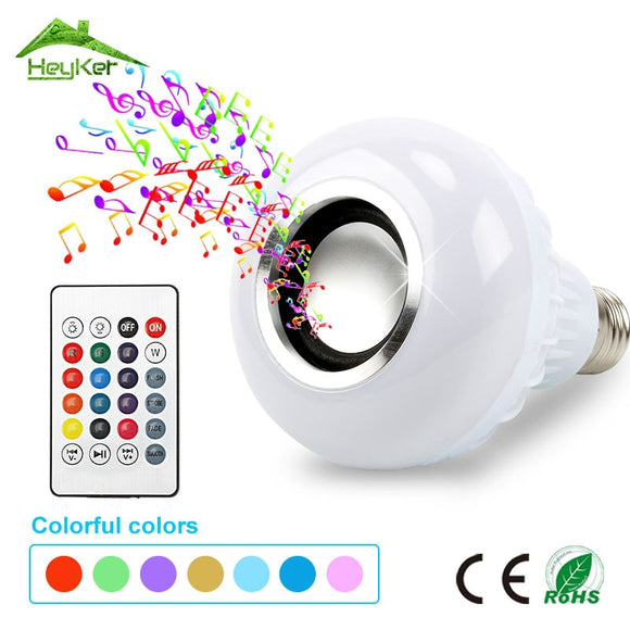 Smart  Bluetooth Speakers LED Bulb Light 12W.