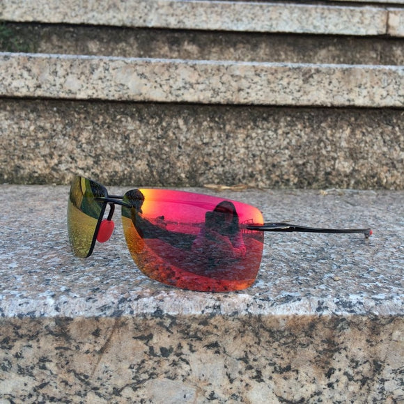 TAC Mirrored Polarized Sunglasses for Man TR90.