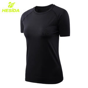 Women T Shirt  Short Sleeve Quick Dry.