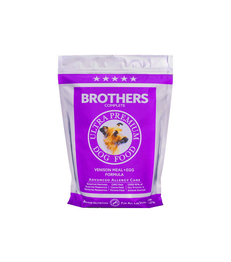 Venison Meal & Egg - Brothers Dog Food