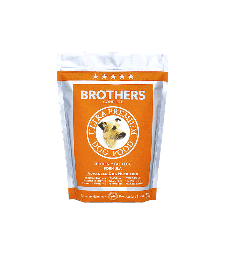 Chicken Meal & Egg - Brothers Dog Food