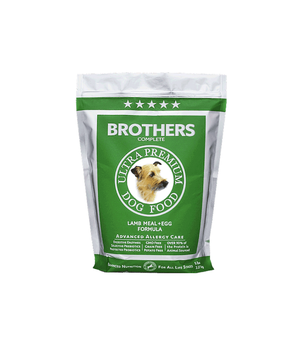 Lamb Meal & Egg - Brothers Dog Food