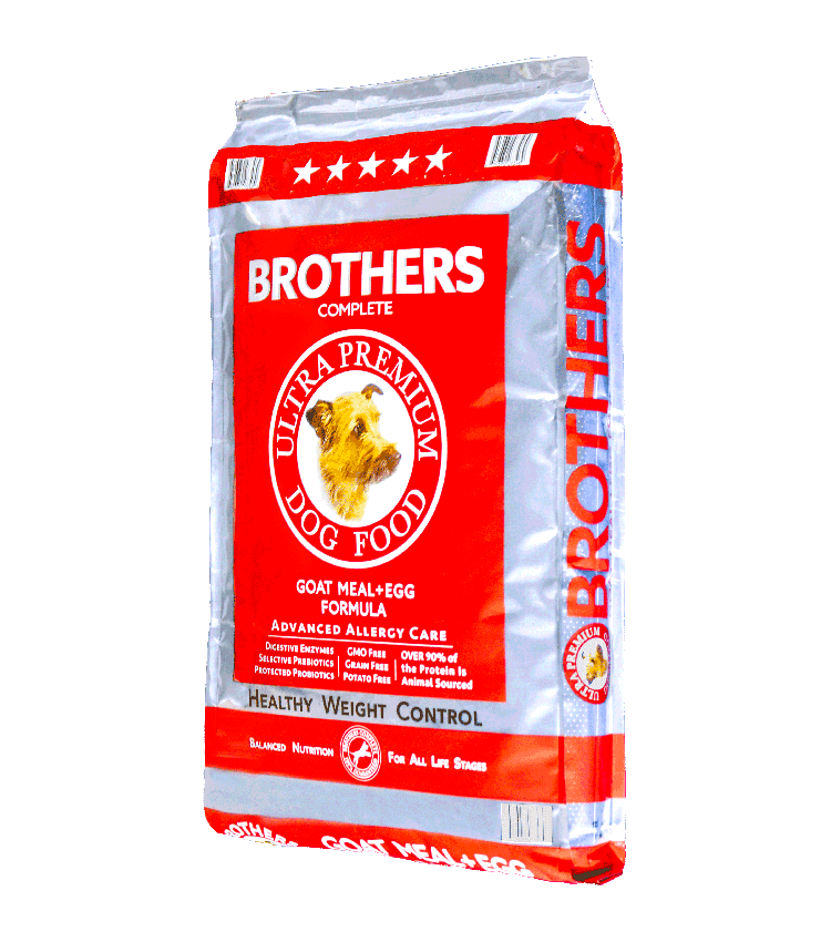 Goat Meal & Egg - Brothers Dog Food