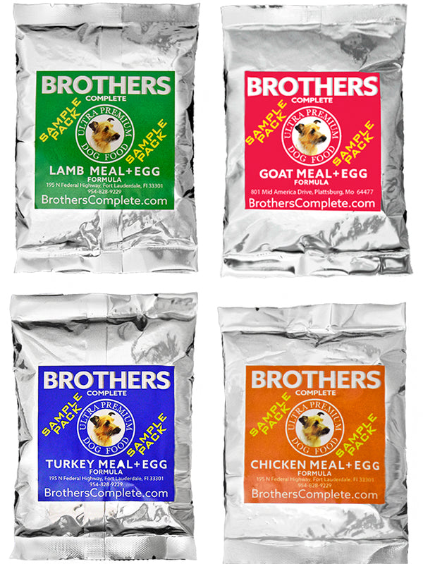 Brothers Dog Food® Sample Packs