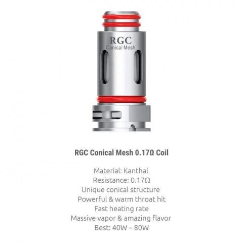 Smok RPM 80 RGC Conical Mesh 0.17ohm Coils