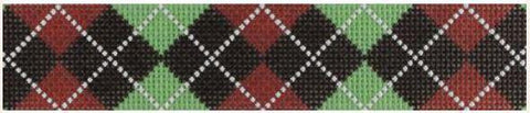 CLC136 Brown Argyle
