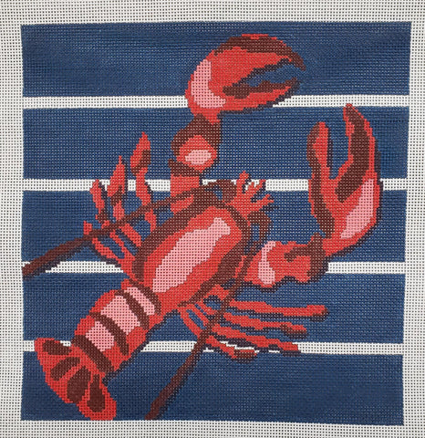 LRE-PL 44 Lobster on Stripes