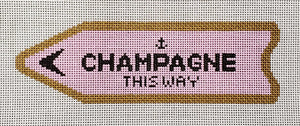 CLV001-P Champagne This Way Pink
