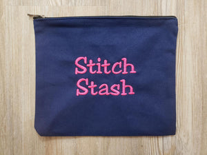 Stitch Stash Bag Navy
