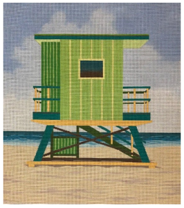361 Green Lifeguard Stand