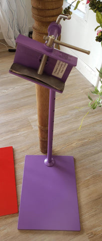 Purple Lowery Colored Workstand