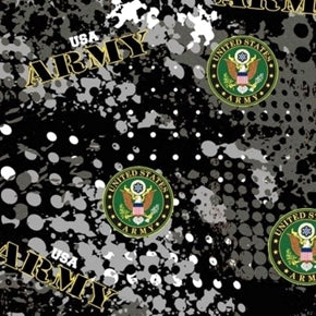 U.S. Army Insignia Cotton Material  Fabric