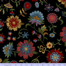 "Load image into Gallery viewer, Marcus Fabrics ""Thread the Needle"" by Laura Berringer Crewel Work Black 0829-0112"