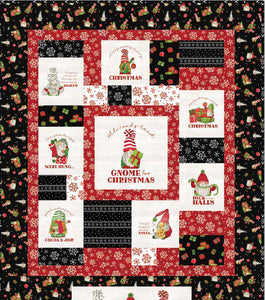 Gnome for Christmas Flannel by Riley Blake