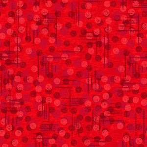 Blank Fabrics Jot Dot 1230-88 Red 108