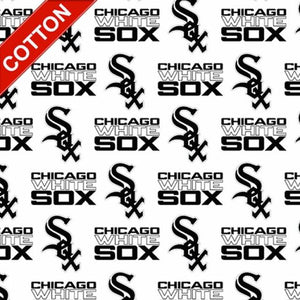 Chicago White Sox MLB Cotton Fabric - 58-60