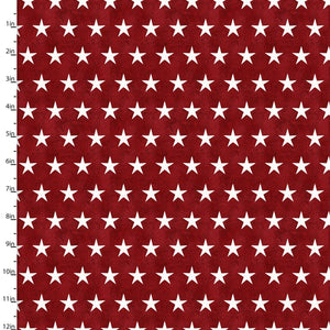 3 Wishes American Spirit by Beth Albert 16064 Red Stars