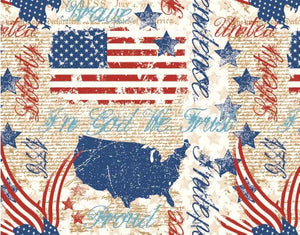 Stars of valor patriotic sewing cotton fabric