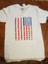 Load image into Gallery viewer, Quilter's Flag V-neck Short Sleeve T