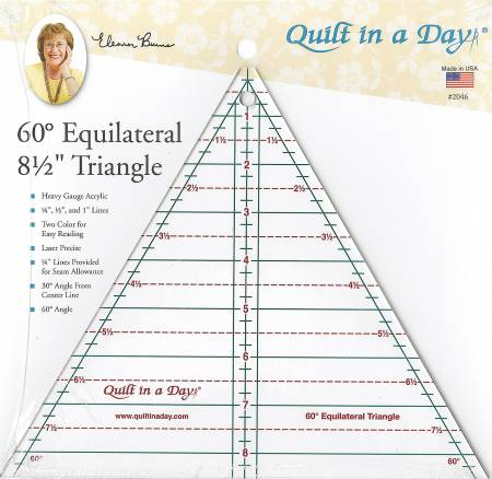 60 Degree Equilateral 8 1/2 Triangle # 2046QD