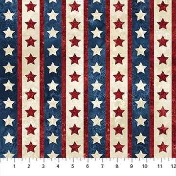 stars and stripes cotton fabric