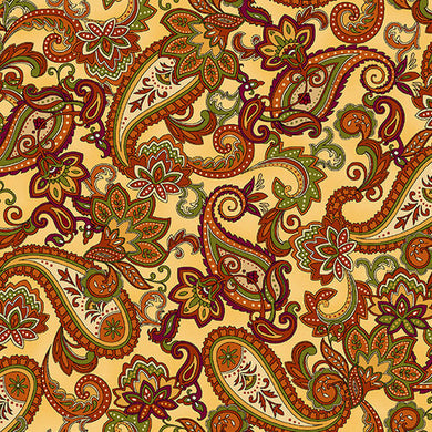 Autumn Time - Paisley Cream