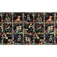 Load image into Gallery viewer, Peace in the Forest Novelty Block Fabric Panel