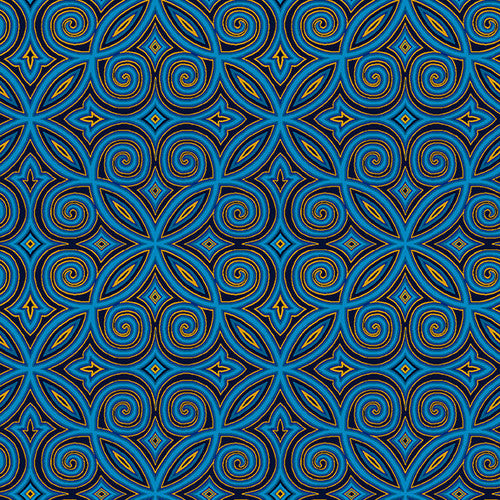 Henry Glass Fabrics Henry Glass Fabrics |Silent Night| 2510-77 Blue