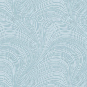 Pearlescent Wave Texture - Teal By Jackie Robinson