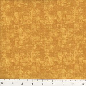 Wood Block Design - Rustic Gold-Orange