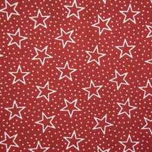 "Load image into Gallery viewer, Pre Cut 108"" -108"" Wide Red Star Backing BD-49522-A03"