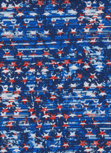 Stars on Blue by Foust Textiles   4967 4 RWB