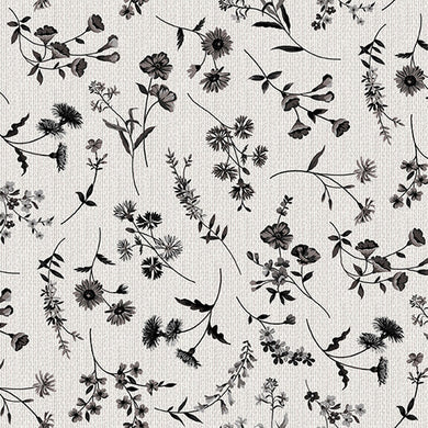 Buttermilk Farmstead - Wildflowers, Ecru - by Grace Popp for Studio E Fabrics  E-5321-39   5321-39 Ecru