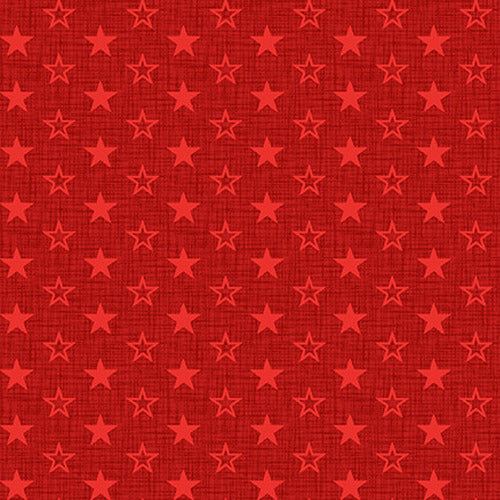 Studio E Tone on Tone Stars 5342-88 Red