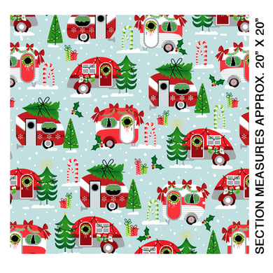 Camp Joy - Christmas Campers Sky by Kanvas # 07970-05
