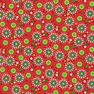 Camp Joy - Joyful Geo Red by Kanvas # 07978-10