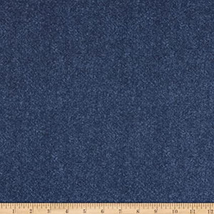 Benartex Winter Wool - Winter Wool Tweed Midnight Fabric
