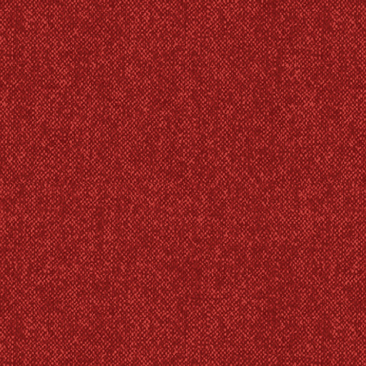 Benartex Winter Wool - Winter Wool Tweed Chili Fabric  9618-88