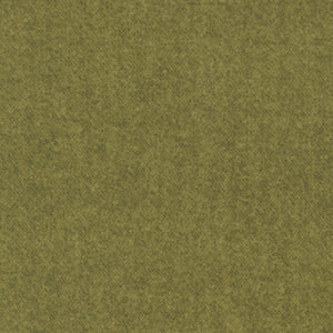 Benartex Winter Wool - Winter Wool Tweed Leaf Fabric  9618-43