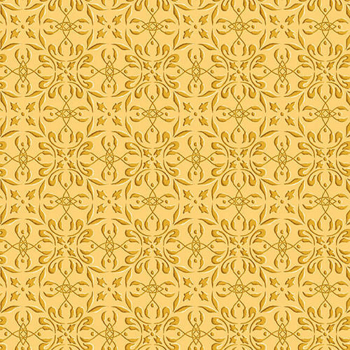 Autumn Time - Butter Tonal Print