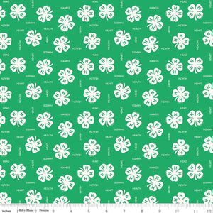 4-H Clovers Green