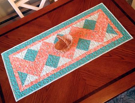 Double Chevron Table Runner Pattern # CLPCLA004