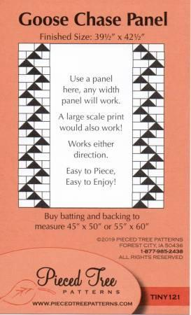 Goose Chase Panel Pattern by Pieced Tree