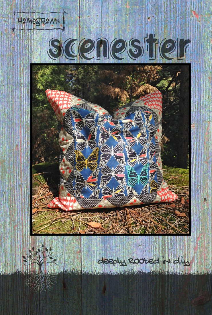 Scenester Pattern by Villa Rosa Designs