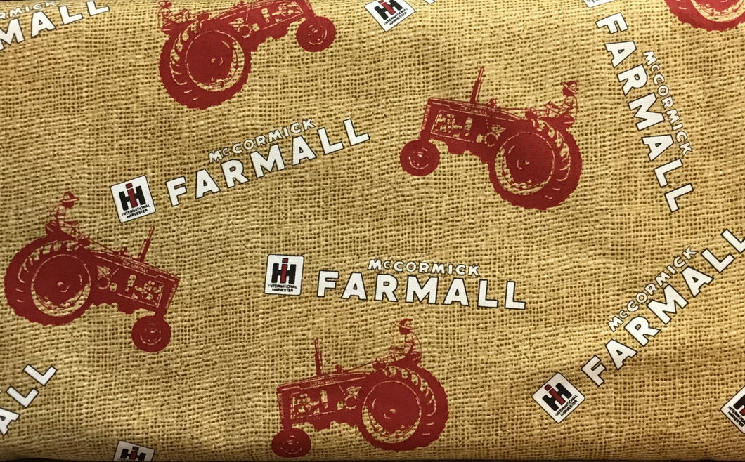 Case IH - Farmall Tractors and Logo